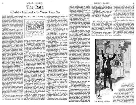 Article Preview: The Raft, September 1913 | Maclean's