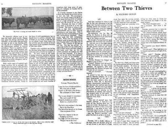 Article Preview: Between Two Thieves, September 1913 | Maclean's