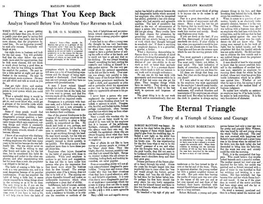 Article Preview: Things That You Keep Back, September 1913 | Maclean's