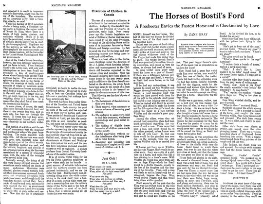 Article Preview: The Horses of Bostil's Ford, October 1913 | Maclean's
