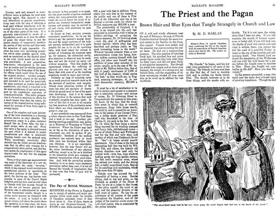Article Preview: The Priest and the Pagan, October 1913 | Maclean's