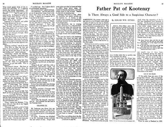 Article Preview: Father Pat of Kootenay, October 1913 | Maclean's
