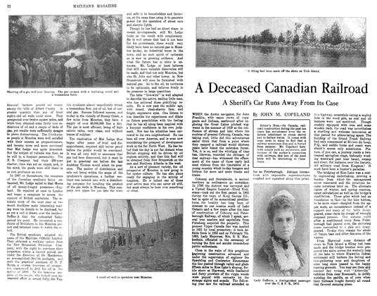 Article Preview: A Deceased Canadian Railroad, November 1913 | Maclean's