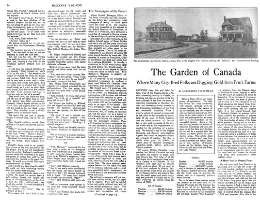 Article Preview: The Garden of Canada, November 1913 | Maclean's