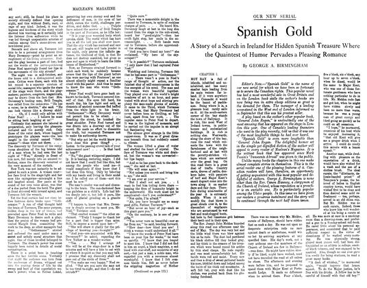 Article Preview: Spanish Gold, November 1913 | Maclean's