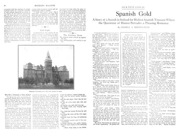 Article Preview: Spanish Gold, December 1913 | Maclean's
