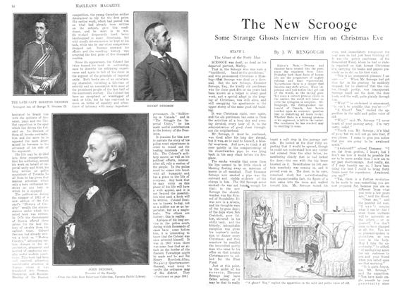 Article Preview: The New Scrooge, December 1913 | Maclean's