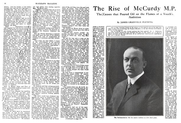 Article Preview: The Rise of McCurdy M.P., January 1914 | Maclean's