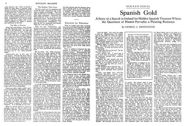 Article Preview: Spanish Gold, January 1914 | Maclean's