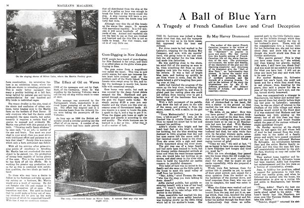 Article Preview: A Ball of Blue Yarn, January 1914 | Maclean's