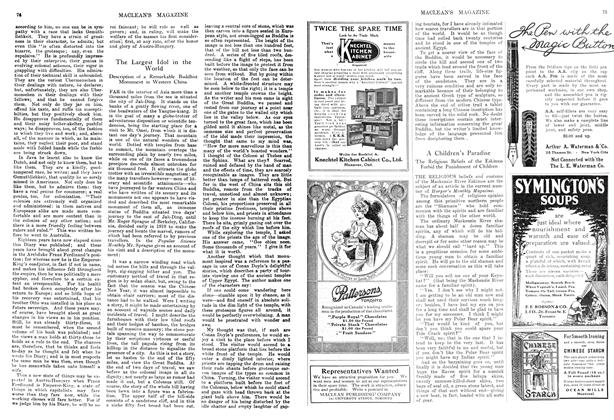 Article Preview: A Children's Paradise, January 1914 | Maclean's