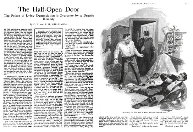 Article Preview: The Half-Open Door, January 1914 | Maclean's
