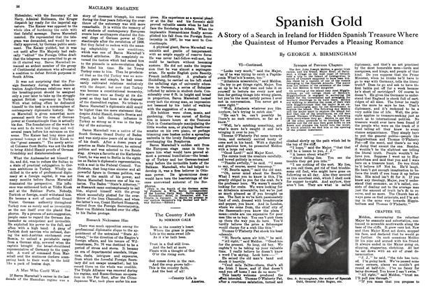 Article Preview: Spanish Gold, February 1914 | Maclean's