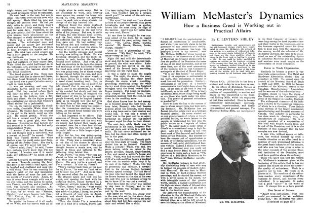 Article Preview: William McMaster's Dynamics, February 1914 | Maclean's