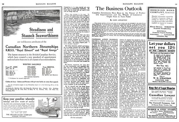 Article Preview: The Business Outlook, February 1914 | Maclean's