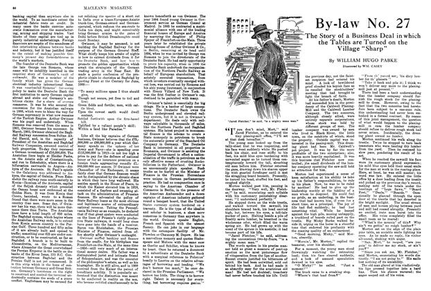 Article Preview: By-law No. 27, March 1914 | Maclean's