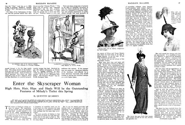 Article Preview: Enter the Skyscraper Woman, March 1914 | Maclean's