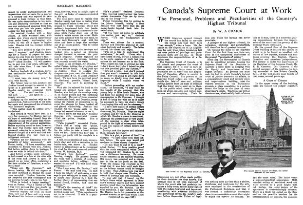 Article Preview: Canada's Supreme Court at Work, March 1914 | Maclean's