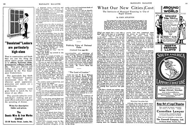 Article Preview: What Our New Cities ¡Cost, March 1914 | Maclean's