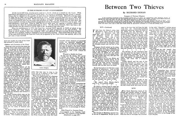 Article Preview: Between Two Thieves, March 1914 | Maclean's