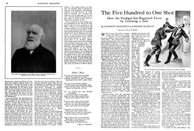 Article Preview: The Five Hundred to One Shot, April 1914 | Maclean's