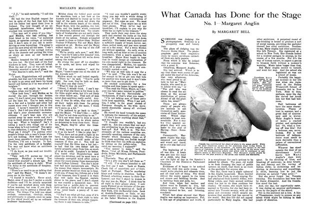 Article Preview: What Canada has Done for the Stage, April 1914 | Maclean's