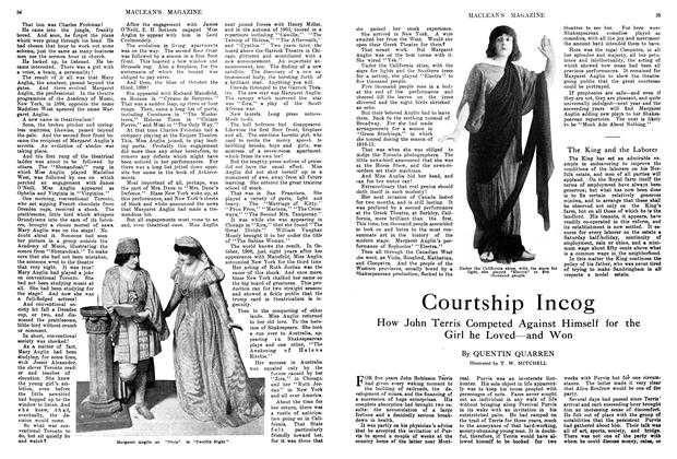 Article Preview: Courtship Incog, April 1914 | Maclean's