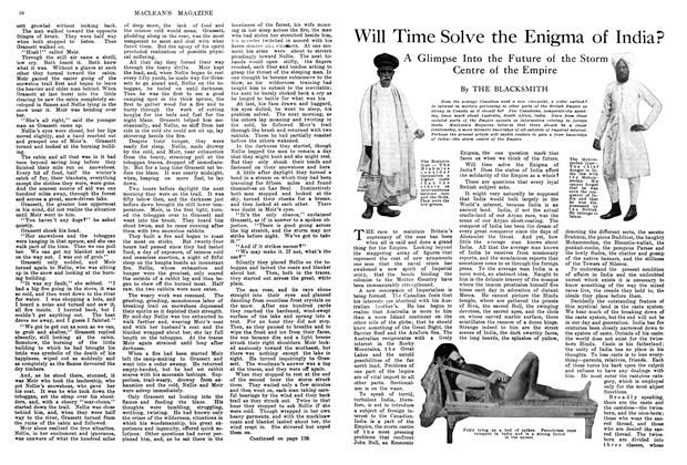 Article Preview: Will Time Solve the Enigma of India?, April 1914 | Maclean's