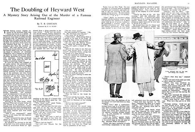 Article Preview: The Doubling of Heyward West, April 1914 | Maclean's