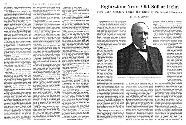 Article Preview: Eighty-four Years Old, Still at Helm, May 1914 | Maclean's