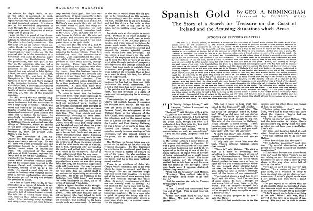 Article Preview: Spanish Gold, May 1914 | Maclean's