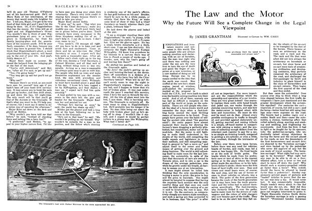 Article Preview: The Law and the Motor, May 1914 | Maclean's