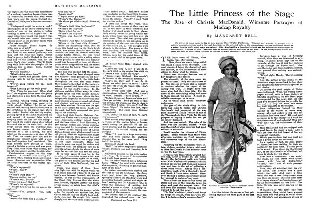 Article Preview: The Little Princess of the Stage, May 1914 | Maclean's