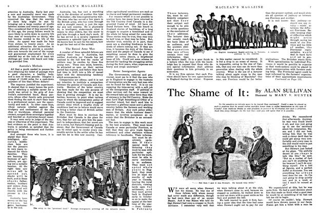 Article Preview: The Shame of It, May 1914 | Maclean's