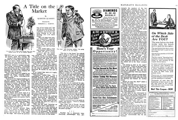 Article Preview: A Title on the Market, May 1914 | Maclean's