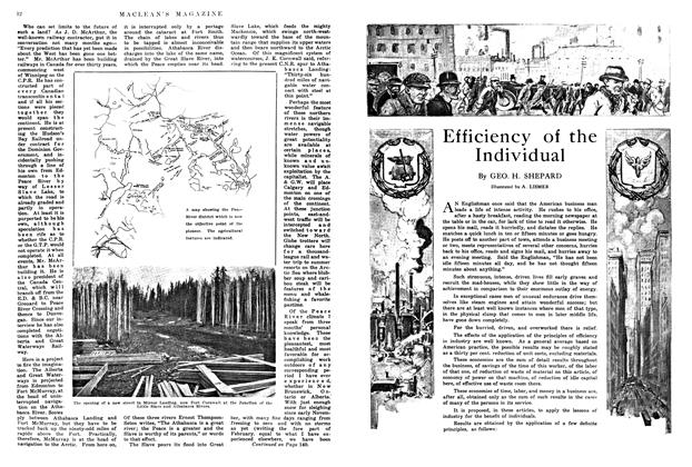Article Preview: Efficiency of the Individual, May 1914 | Maclean's