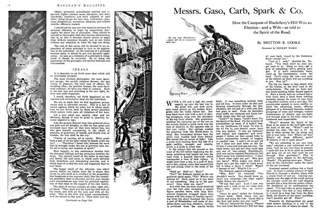 Article Preview: Messrs. Gaso, Carb, Spark & Co., May 1914 | Maclean's