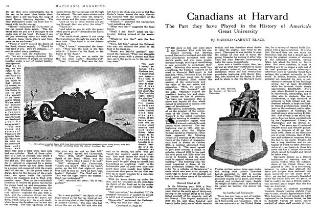 Article Preview: Canadians at Harvard, May 1914 | Maclean's