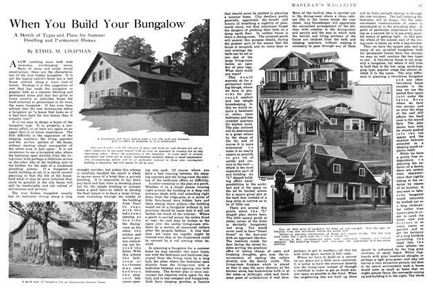 Article Preview: When You Build Your Bungalow, June 1914 | Maclean's