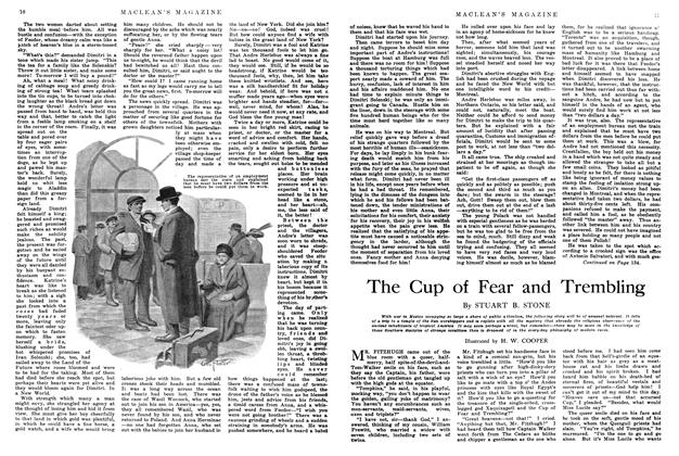 Article Preview: The Cup of Fear and Trembling, June 1914 | Maclean's