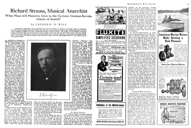 Article Preview: Richard Strauss, Musical Anarchist, June 1914 | Maclean's