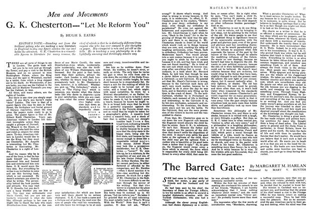 Article Preview: The Barred Gate:, July 1914 | Maclean's