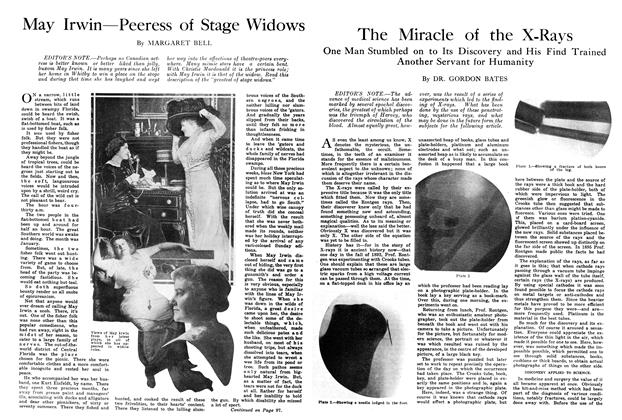 Article Preview: May Irwin—Peeress of Stage Widows, July 1914   Maclean's
