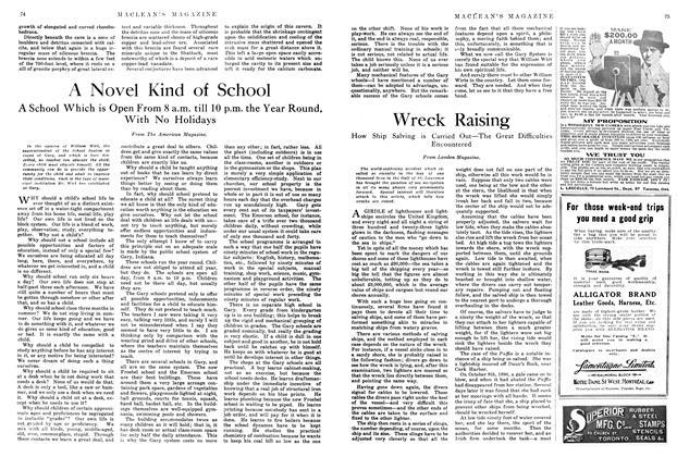 Article Preview: Wreck Raising, July 1914   Maclean's