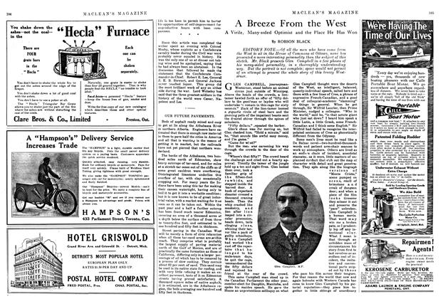 Article Preview: A Breeze From the West, July 1914 | Maclean's