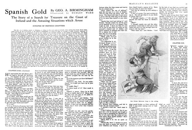 Article Preview: Spanish Gold, July 1914 | Maclean's
