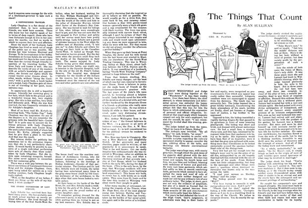 Article Preview: The Things That Count, August 1914 | Maclean's