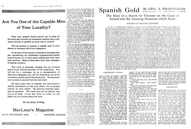 Article Preview: Spanish Gold, August 1914 | Maclean's