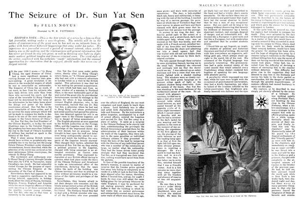 Article Preview: The Seizure of Dr. Sun Yat Sen, August 1914 | Maclean's