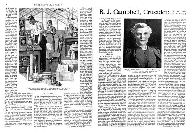 Article Preview: R. J. Campbell, Crusader, September 1914   Maclean's